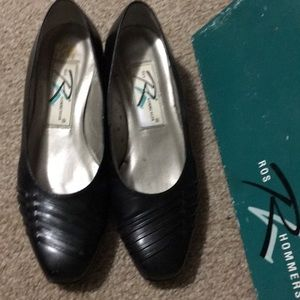 ROS HOMMERSON 6.5 Black Genuine Leather Shoes
